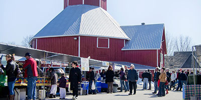 Carp farmers market outdoors