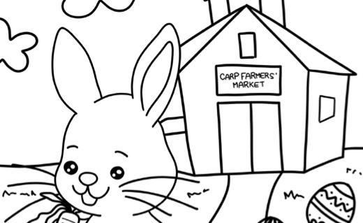 2019 Easter Market Kids Colouring Contest