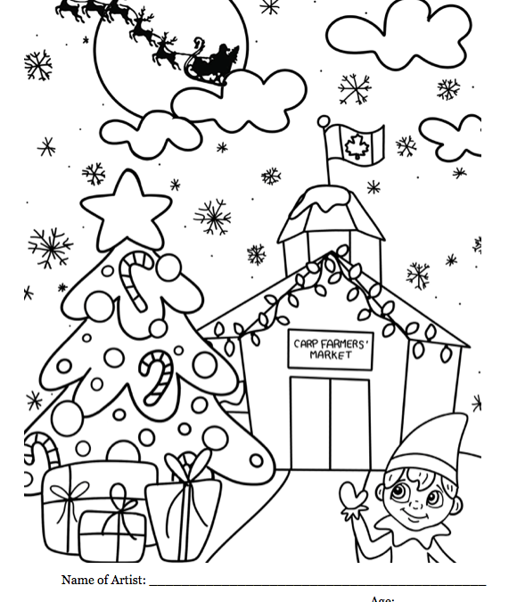 Christmas Colouring Contest for 2019!